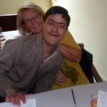 En elev från pojkskola för funktionshindrade där jag arbetade en period