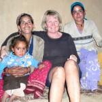 Familj som jag bodde hos en natt